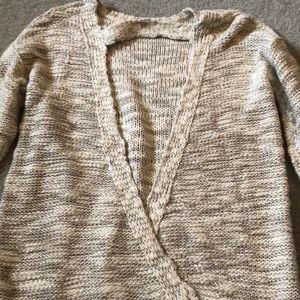 Forever 21 open back sweater